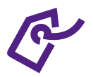 Tag Icon Purple