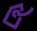 Tag Icon Purple