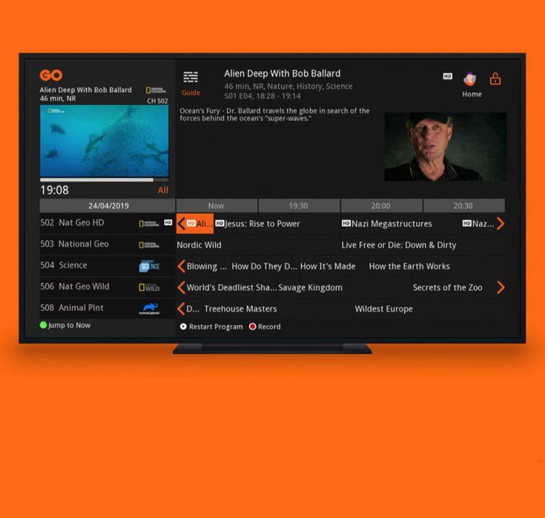 New GO TV