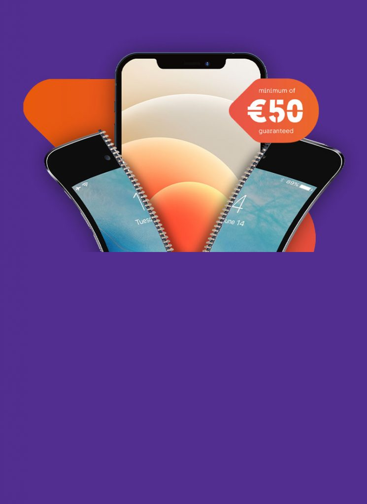 Trade in your phone & get €50